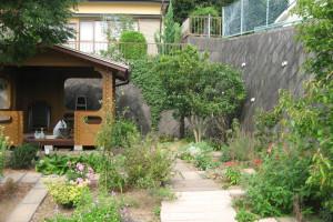 2014年の庭